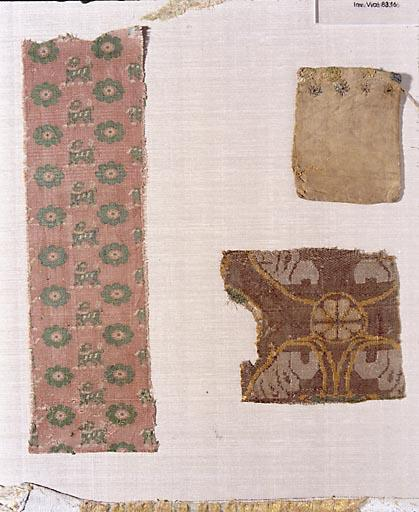Fragment de pièce de tissu (n° 1)