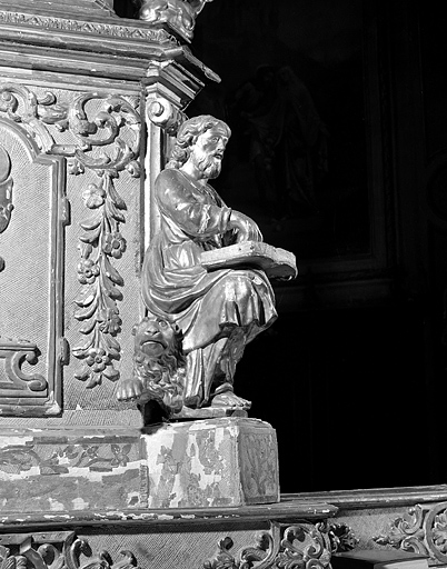 4 statuettes : les Evangélistes