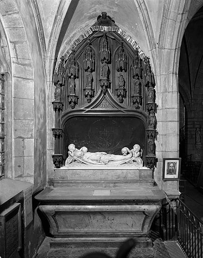 Autel, retable (autel secondaire de la 1ère chapelle gauche)