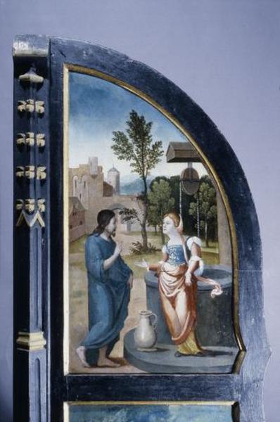 2 volets du polyptyque de l'autel majeur
