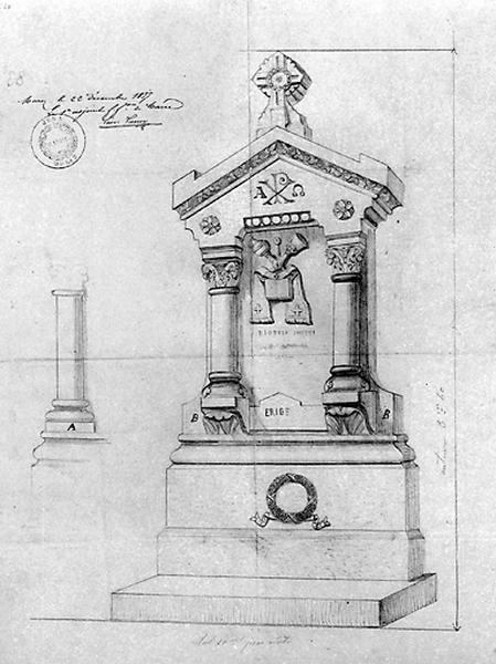 Monument sépulcral du curé Joseph-Marie Grenier