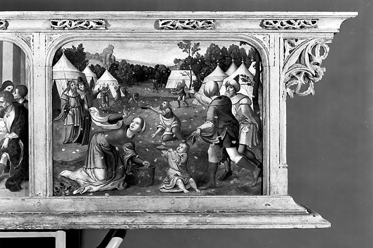 Prédelle du polyptyque de l'autel majeur