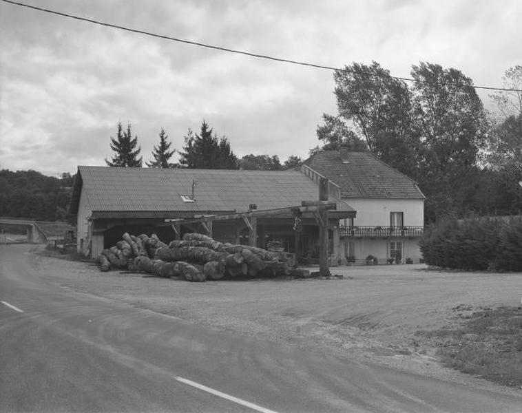 Moulin à huile Menétrier, scierie