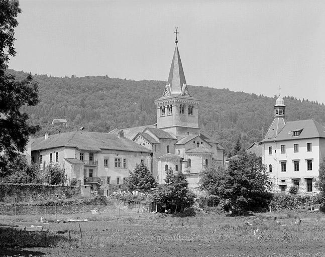 Prieuré Saint-Lupicin, église paroissiale de la Nativité-de-la-Vierge