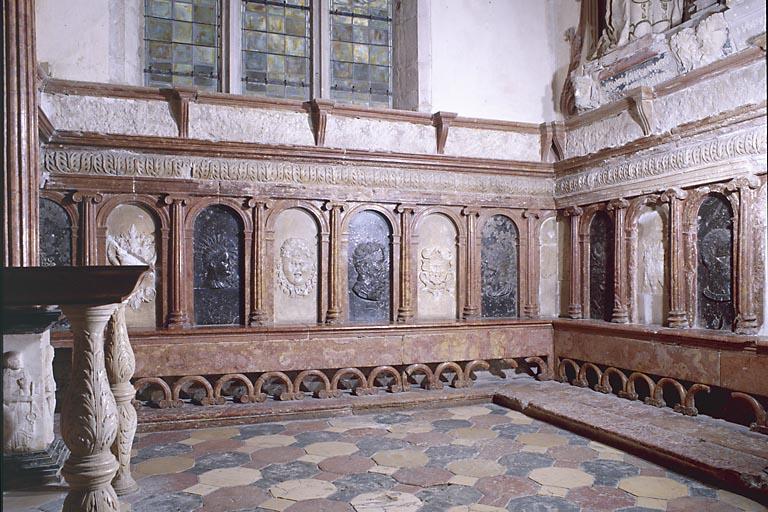 15 bas-reliefs de la chapelle de la Résie
