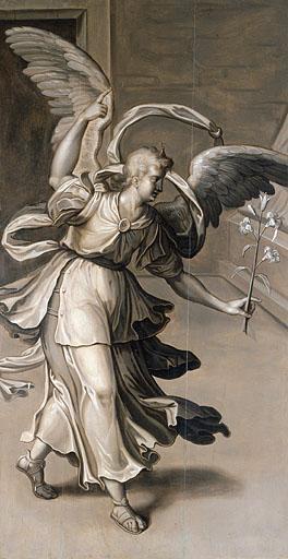 Tableau : l'ange de l'Annonciation