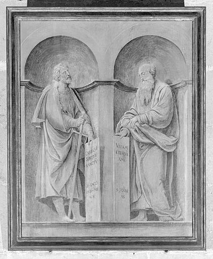 6 tableaux des volets du retable de Pierre de la Baume