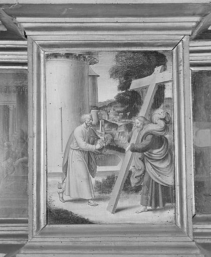 7 tableaux de la prédelle du retable de Pierre de la Baume