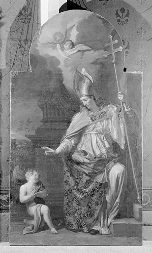 Tableau : Saint Claude guérissant un enfant