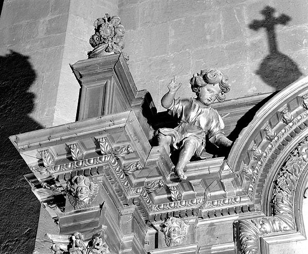 Autel, retable (autel de saint Oyend)
