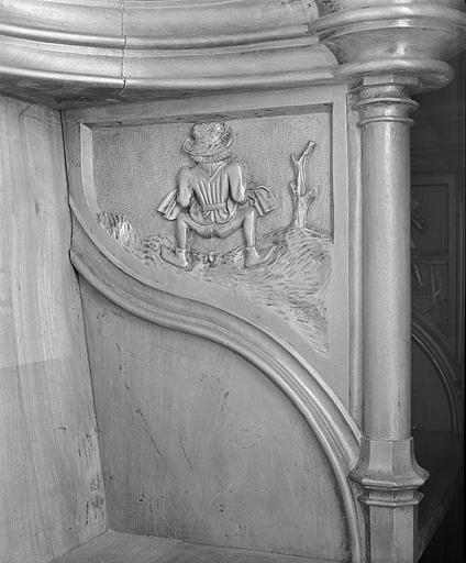 24 bas-reliefs des parcloses des stalles nord