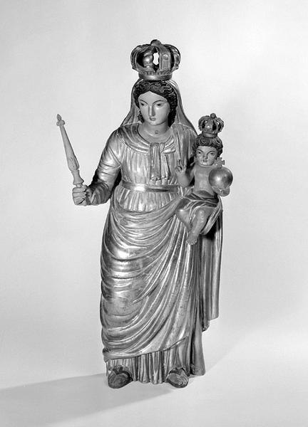 statue : Vierge à l'Enfant (n° 2)