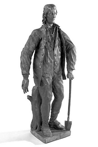 Statuette : saint Isidore