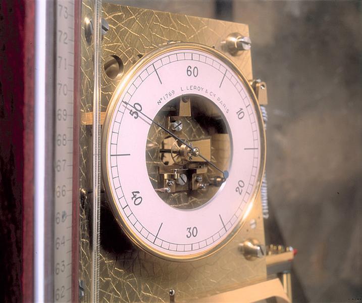 Horloge à pression constante (régulateur astronomique Leroy n° 1769)