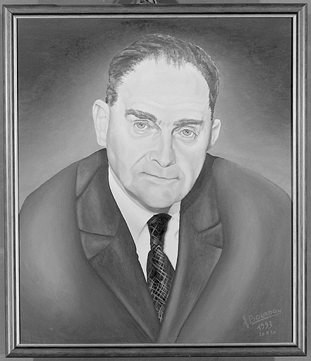 Tableau : portrait de Louis Arbey
