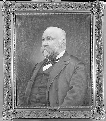 Tableau : portrait de Louis-Jules Gruey