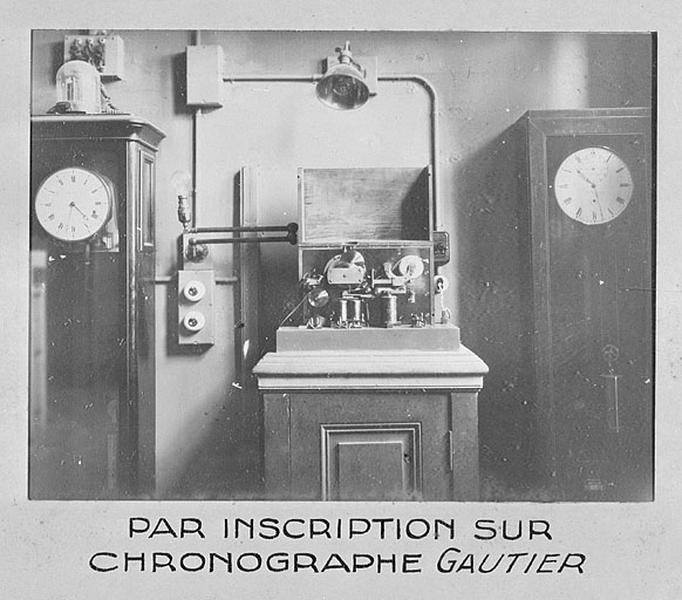 équipement pour les épreuves chronométriques