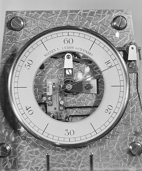 Horloge à pression constante (régulateur astronomique Leroy n° 1723)