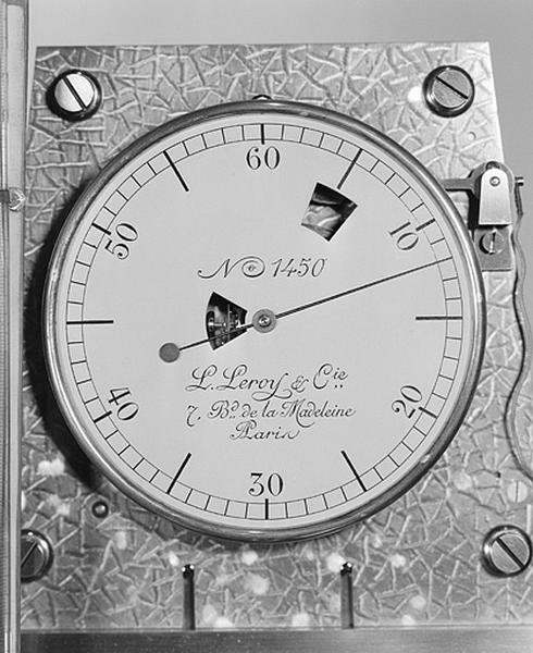Horloge à pression constante (régulateur astronomique Leroy n° 1450)