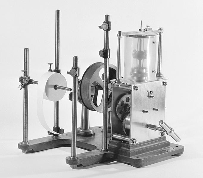 Instrument de mesure du temps et d'enregistrement (chronographe Boulitte)