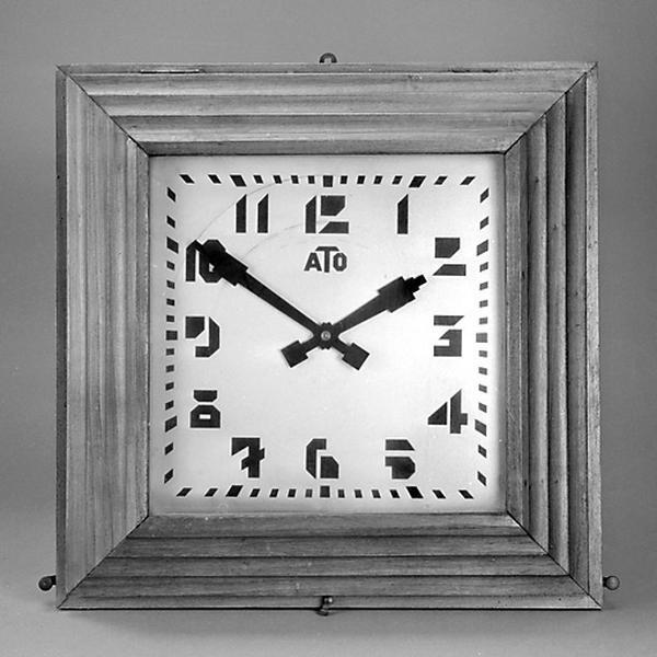 2 horloges électriques ATO