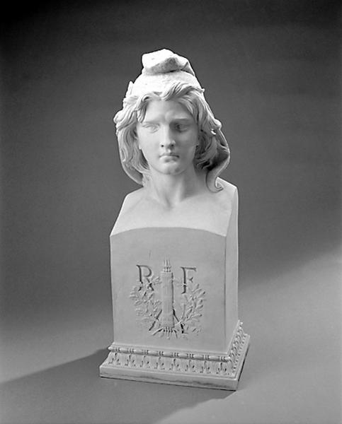 Buste : Marianne ou la République française