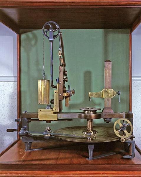 Machine à marquer (machine à diviser les cercles Jacquet)