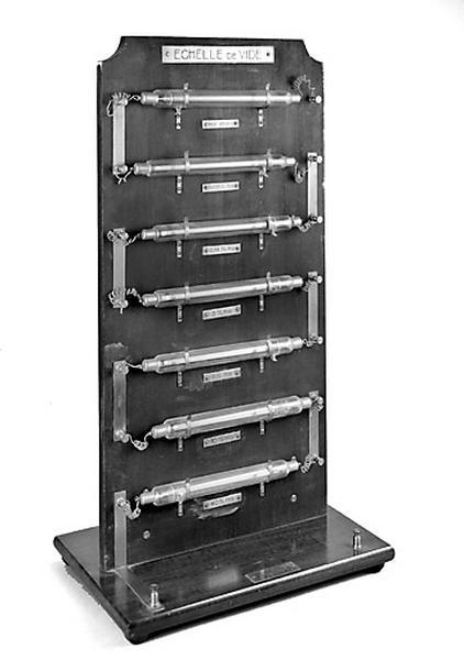 instrument de démonstration en électrodynamique (échelle de vide Les Fils d'Emile Deyrolle)