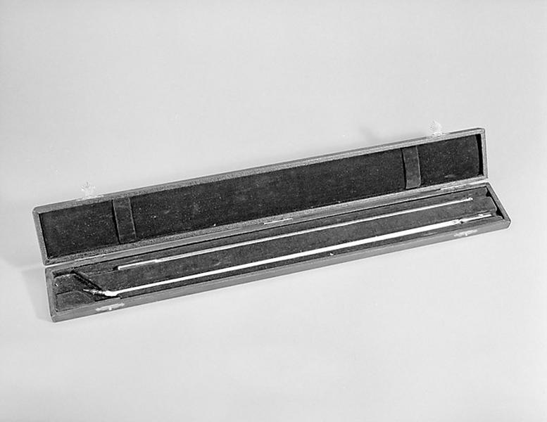 2 instruments de mesure de la température (thermomètres à mercure Prolabo)