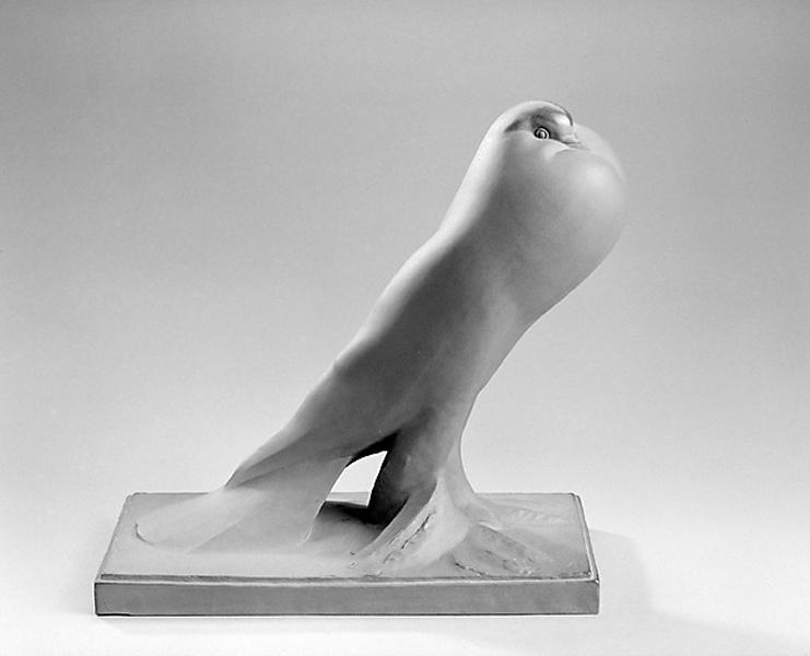 Statuette : Pigeon boulant