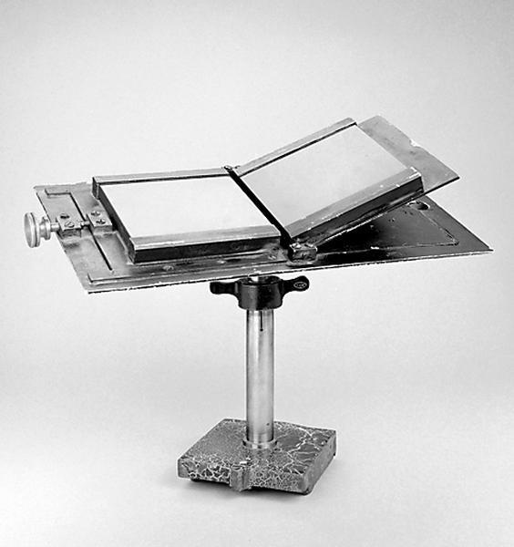 Instrument de démonstration en optique (miroirs de Fresnel)