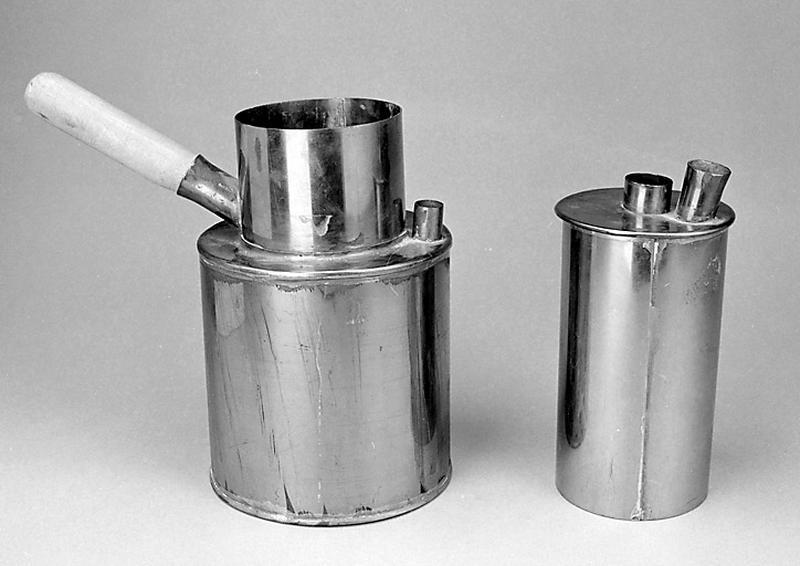 instrument de mise en évidence des chaleurs spécifiques (étuve de Berthelot)