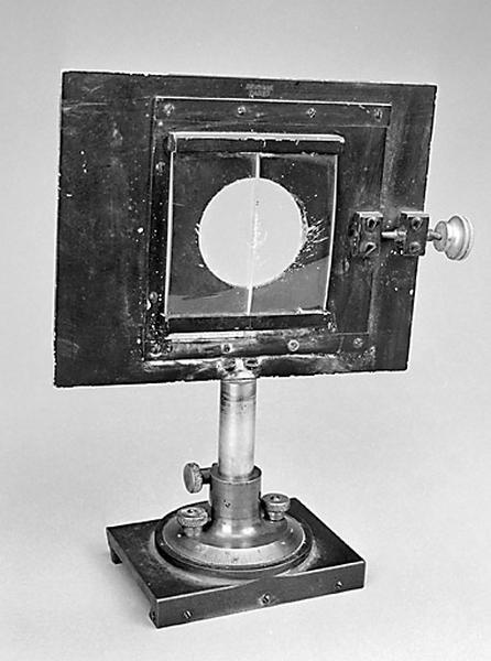 instrument de démonstration en optique (support de lentille et bi-lentille de Billet)