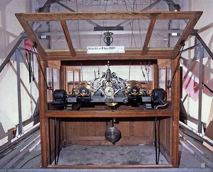Horloge d'édifice L.-D. Odobey Cadet