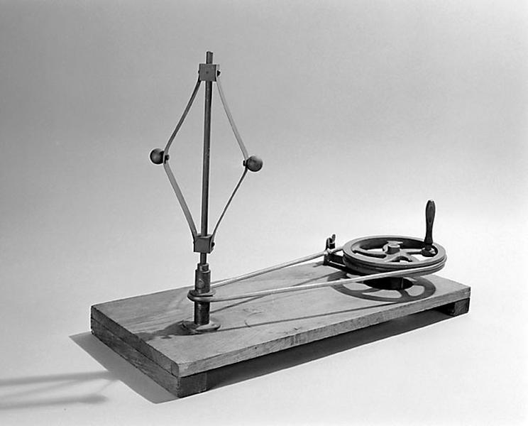 instrument de démonstration en dynamique des solides (appareil de la force centrifuge)