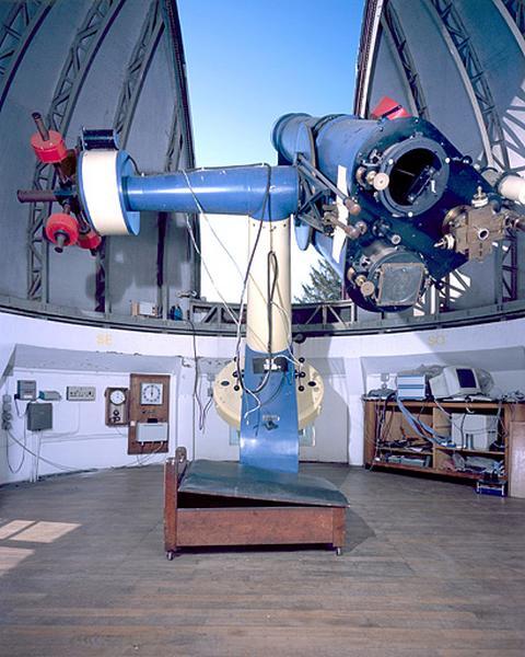 Ensemble de l'astrographe triple et de ses accessoires