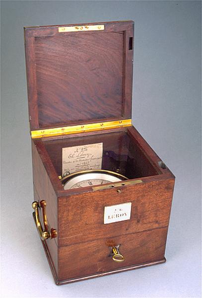 Instrument de mesure du temps (chronomètre de marine Leroy n° 276)