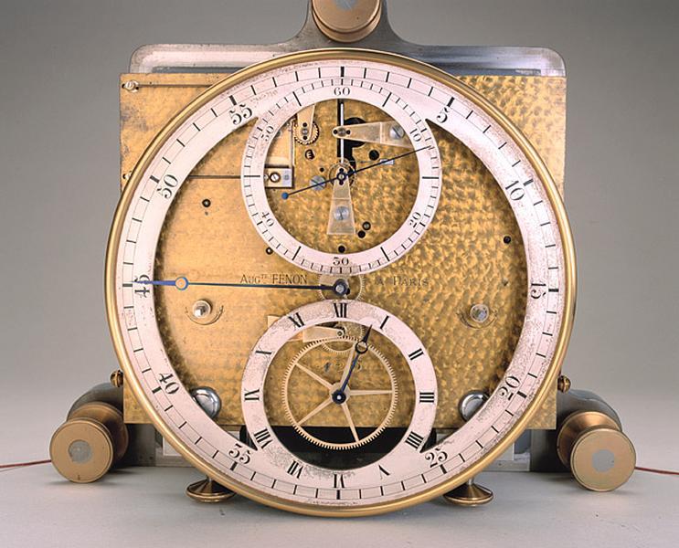 horloge dite la Princesse (régulateur astronomique Fénon n° 45)