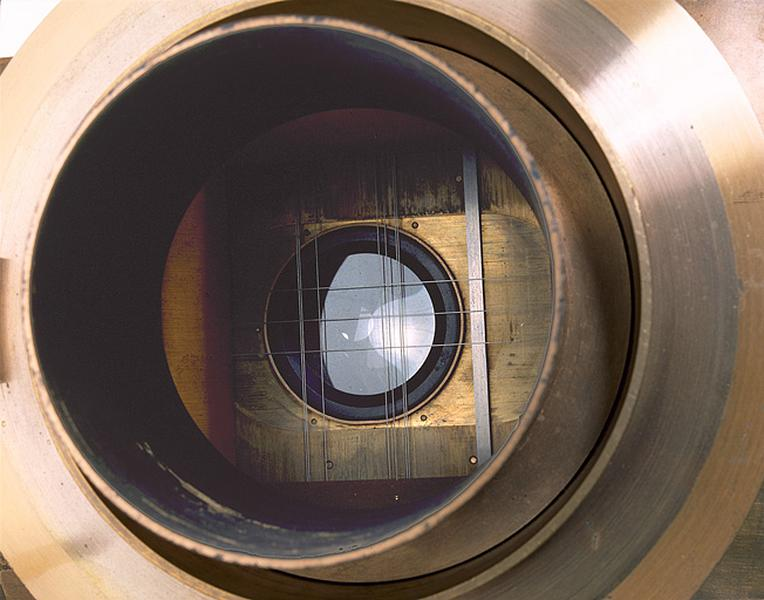 Instrument de mesure des longueurs (micromètre Gautier de l'équatorial coudé)