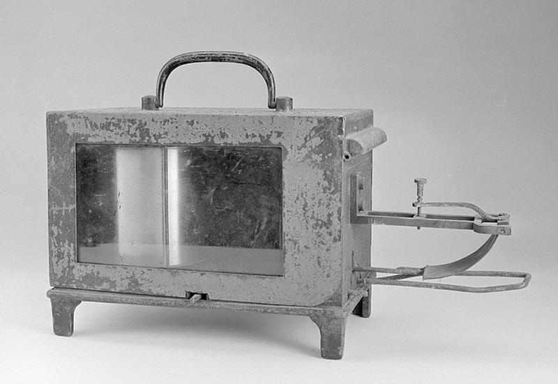 Thermomètre et instrument d'enregistrement (thermomètre enregistreur Jules Richard)