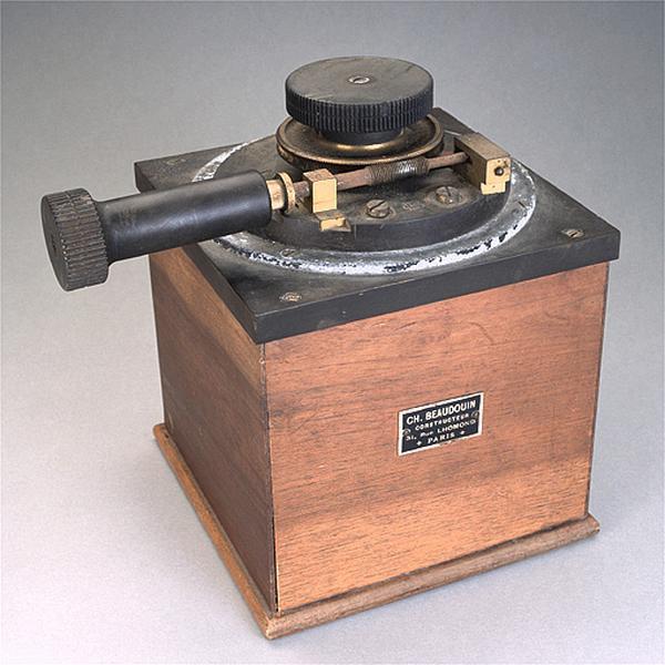 Amplificateur (condensateur variable Beaudoin)