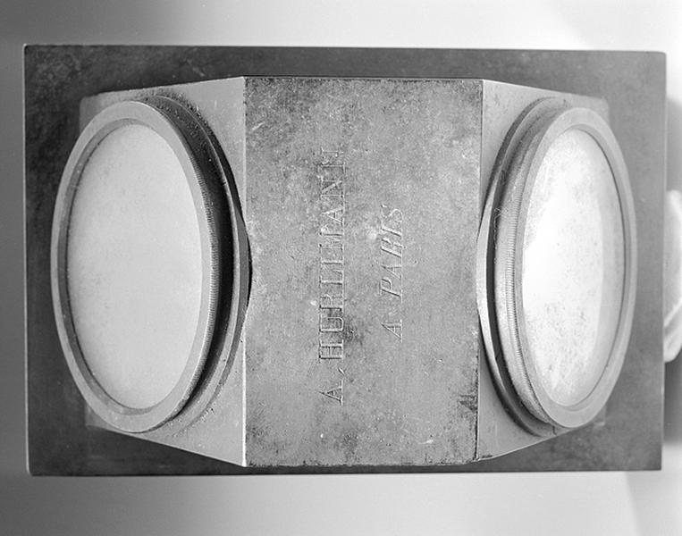 Instrument de préparation (couvercle d'un horizon artificiel)