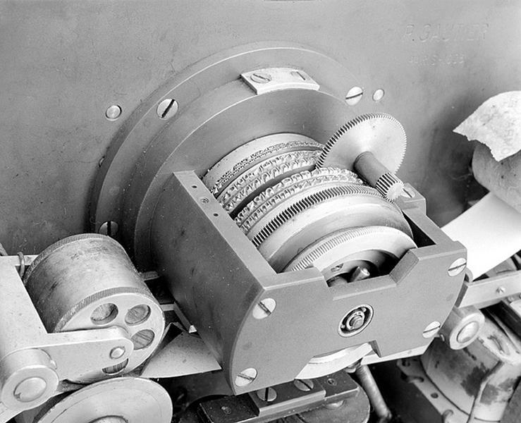 Instrument de mesure du temps et d'enregistrement (chronographe Gautier)