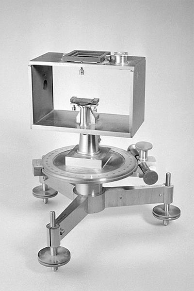Ensemble des instruments de magnétisme et de sismologie