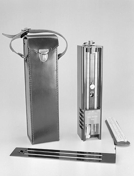 Instrument de mesure de l'hygrométrie et de la température (psychromètre à aspiration Jules Richard)