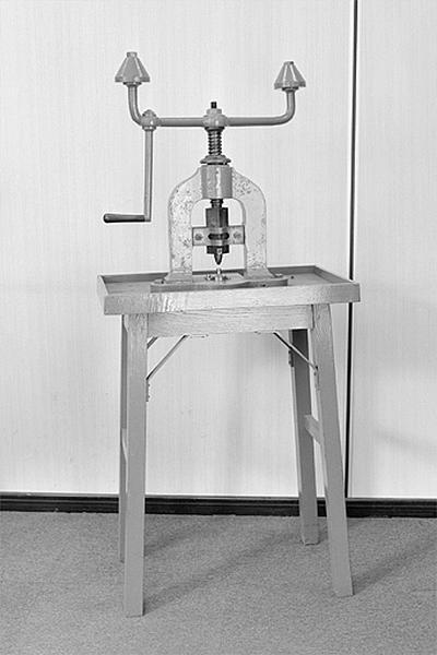 Machine à estampiller (presse à balancier)
