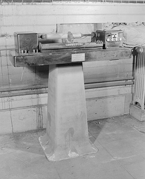 Instrument de mesure du temps et d'enregistrement (3e chronographe Belin)