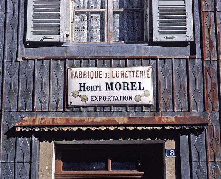 tannerie puis usine de lunetterie, actuellement maison et immeuble