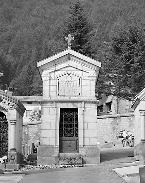Chapelle funéraire de la famille d'Aimé Lamy