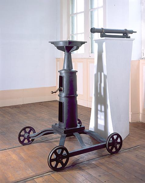 Instrument de préparation (chariot de retournement)